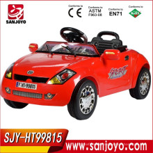 China wholesale toy ride on battery cars with Led lights and Music ride on toy car connect MP3 to playing HT-99815