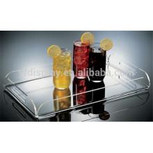 High Transparent Acrylic Tea Tray