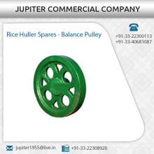 Des pièces de rechange de machines de riz Huller de longue durée disponibles à prix abordable