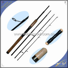 TVR003 4 Section Carbon Travel Fishing Rod