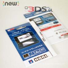 Filme protetor de tela Ultra Thin para Nintendo New Protetor de tela 3DSXL para novo 3dsll 3DS XL LL