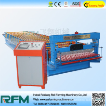 Roof panel machine corrugated sheet making machine