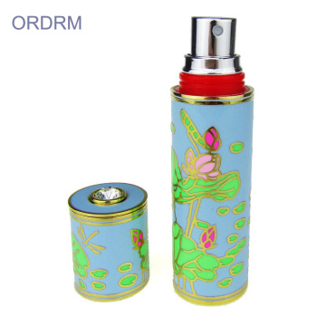 Custom Enamel Empty Spray Perfume Bottle