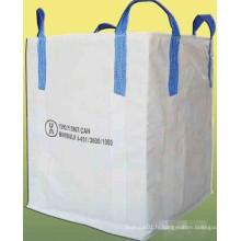 PP Big Bag (pour sable, matériaux de construction, produits chimiques, engrais, farine, sucre, etc.)