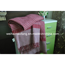 Fringed Virgin Wool Throw (NMQ-WT041)