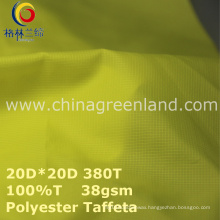 Polyester Waterproof Plaid Coating Fabric for Garment Jacket (GLLML269)