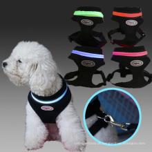 O cão o mais novo de Doglemi conduziu o chicote de fios conduzido do cão do animal de estimação do filhote de cachorro da malha do produto