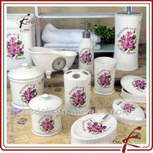 2015 Китай Завод керамический фарфор Ванна набор ванной аксессуар