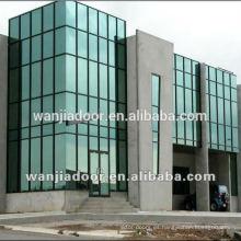 Pared de cristal de aluminio vendedora caliente WJ-cortina wall-01