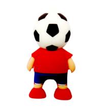 Forma de jugador de fútbol USB Pendrive USB con muestras gratuitas