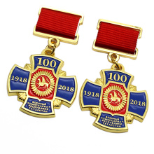 Hot Sale Custom Metal Military Badges And Medals