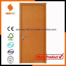 Design de porta principal de madeira com preço competitivo