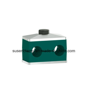 Twin /Double Plastic Clamp for Pipe /Cable