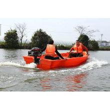 8 personas PE chino lago de botes baratos pesca bote de plástico para la venta