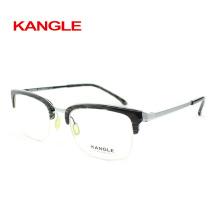 Горячая продажа новых мужчин eyeglasses ацетата, ацетата в сочетании с металлические оправы