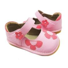 Rosa Baby quietschende Blume Schuhe Mädchen