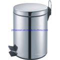 Poubelle à pédale en acier inoxydable de haute qualité, poubelle