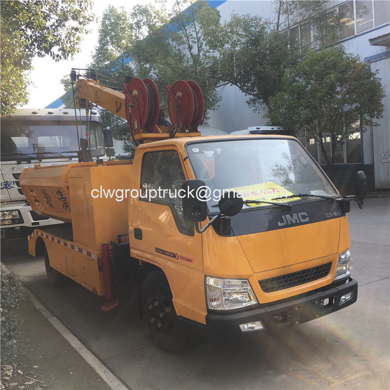 Gully Cleaning Truck3