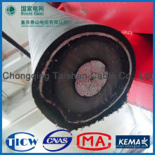 Profesional de alta calidad de los cables de alimentación de goma