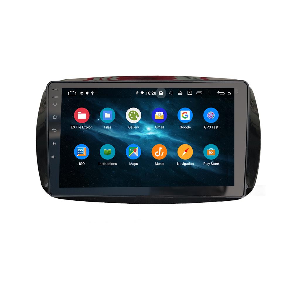 Mercedes Benz Smart Car Radio With Dab Carplay