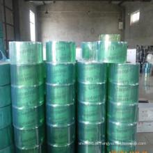 Folha de cortina de PVC macio verde / rolo