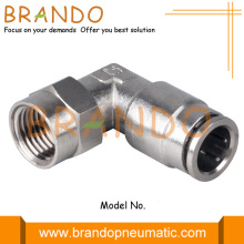 Female Thread Elbow Push-In Brass Pneumatic Hose Fitting