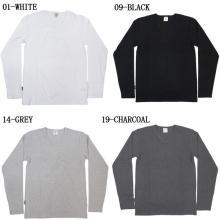 Men's 100% cotton Blank long Sleeve T -shirt