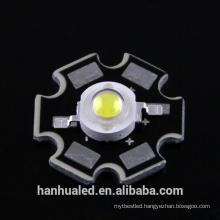 wide angle led 14000k 3v 700mA epistar chip 240lm 3w LED White Star