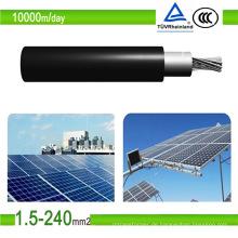 TÜV Zertifikat Solarkabel PV1-F PV verzinnt Kupfer Photovoltaik Kabel
