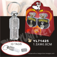 Etiqueta de perro personalizado, etiqueta de mascotas (yl71425)