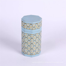 Boîte de cadeau de cylindre d'emballage de parfum d'impression personnalisée