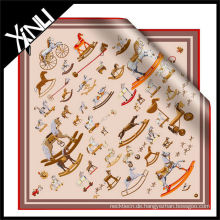 2014 SS New Collection Seiden bedruckter Schal