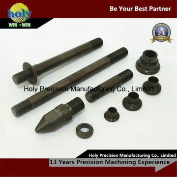 Peças fazendo à máquina fazendo à máquina do CNC do aço do torno do CNC do óxido preto