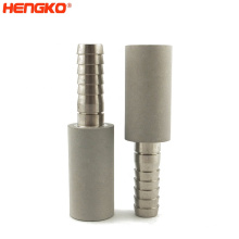 Home Brewing Carbonation Kit Food Grade Sintered 316L Stainless Steel 0.5 2um Diffusion Stone