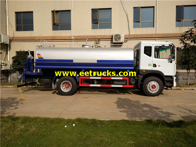2000 Gallons Road Watering Tanker Vehicles