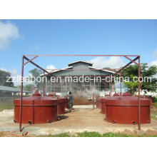 Machine de poêle à carbonisation en coque de noix de coco