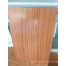 Bobina de recubrimiento de color PVDF de aluminio Woodgrain