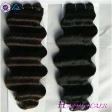 Bonne rétroaction !!! Usine Prix Non Transformés Cheveux Extensions Naturel 12 14 16 18 Vierge Indien Cheveux Indien Chaud Photos De Sexe