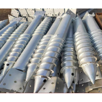 Helical Piers Foundation Ground Screw Pile