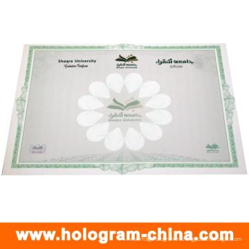 Custom+Anti-Fake+Hot+Stamping+Foil+Watermark+Certificate