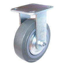 Roulette en PU fixée - Gris (4404662)