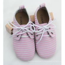 Haute qualité jolie fille et garçon caoutchouc chaussures oxford