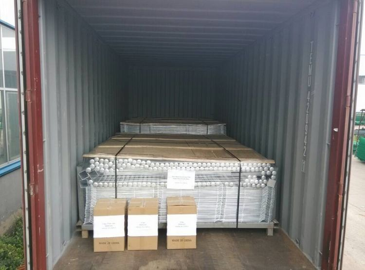 welded wire mesh shipment