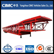 Cimc Tri Axle Car Carrier Transport Remolque Car Carrier Truck