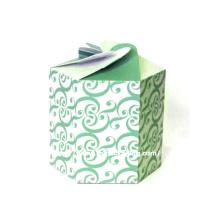 Caixa de alimento de papel redonda personalizada de luxo