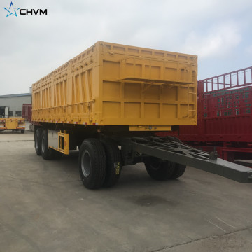 3 assi 30T Drawbar Stake Full-railer