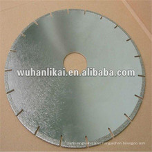 china manufacturer electroplated diamond blade for optical cables