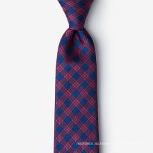 Corbatas de seda tejidas hechas a mano del telar jacquar del 100% para los hombres