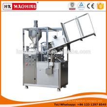 Máquina de llenado y sellado de tubos de aluminio con adhesivo epoxi