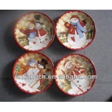 ¡Venta caliente! La torta / las placas de cerámica redondas de la torta del tiempo